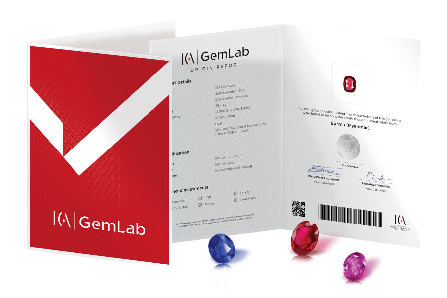 ICA | GemLab Origin Report